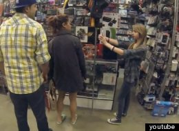 Would You Fall For This Selfie Prank? (VIDEO)