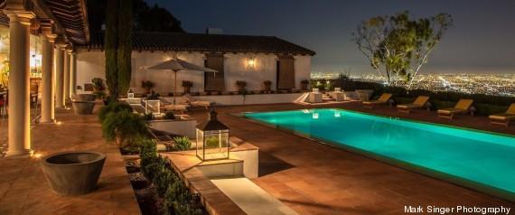 Case di lusso la villa in california con 5 piani for Ville lussuose interni