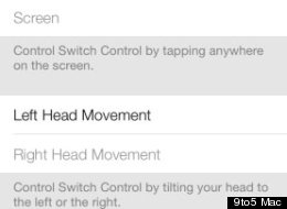 Apple Hides 'Head Motion' Controls In iOS 7 Beta