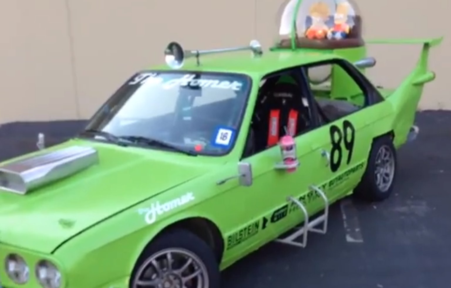 Homer Car: Simpsons' 'The Homer' Car Built For Real (VIDEO)