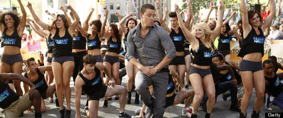 CHANNING TATUM DANCING