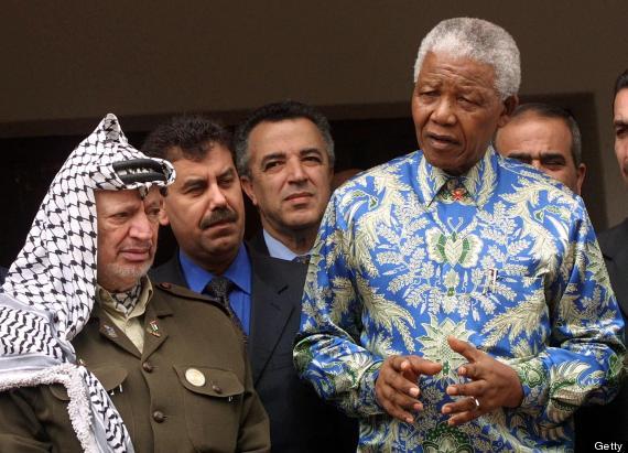 mandela palestine