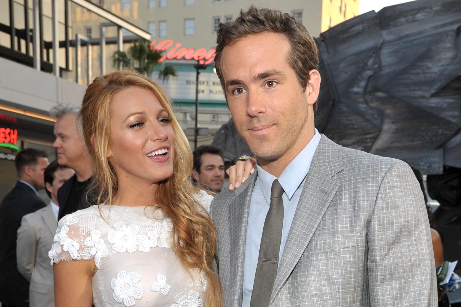 Blake Lively Dresses Husband Ryan Reynolds And We're ...