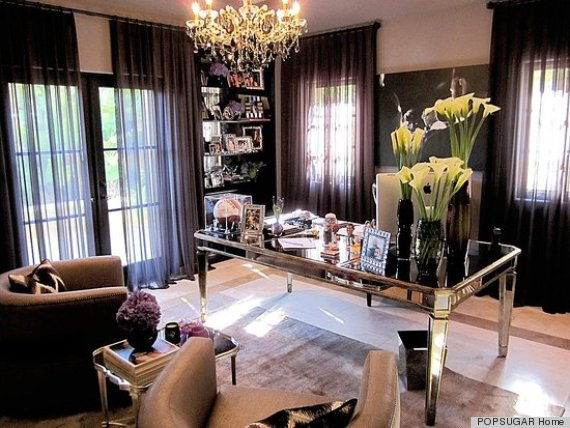 celebrity style homes kardashian decorating guide