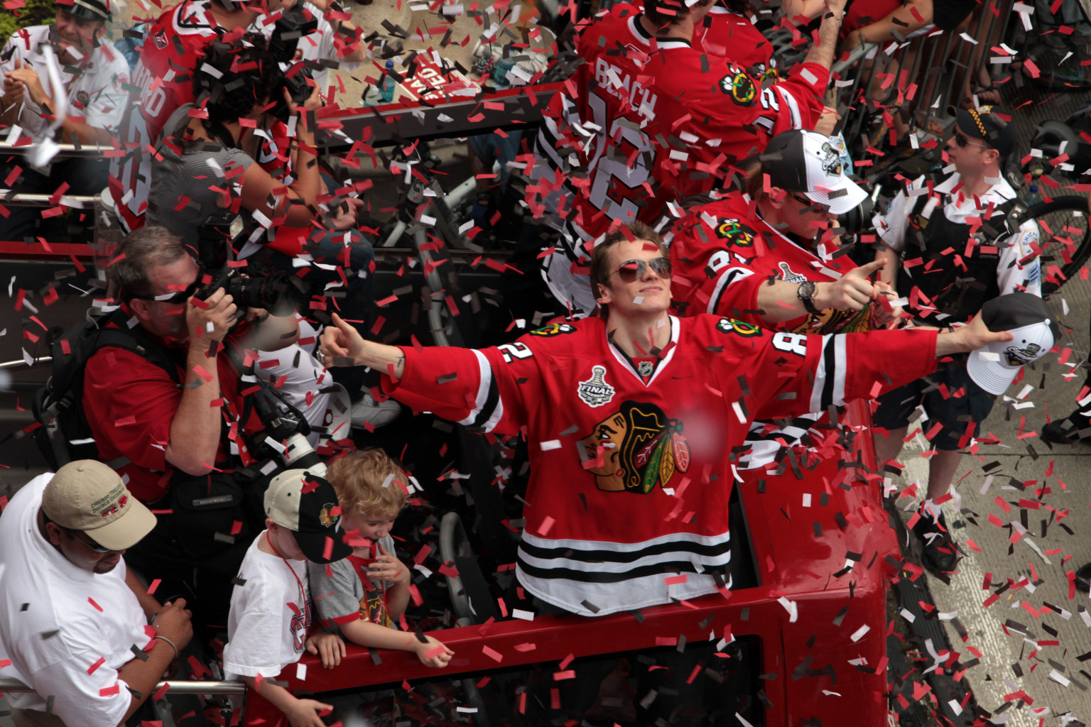 Blackhawks Parade June 29, 2013