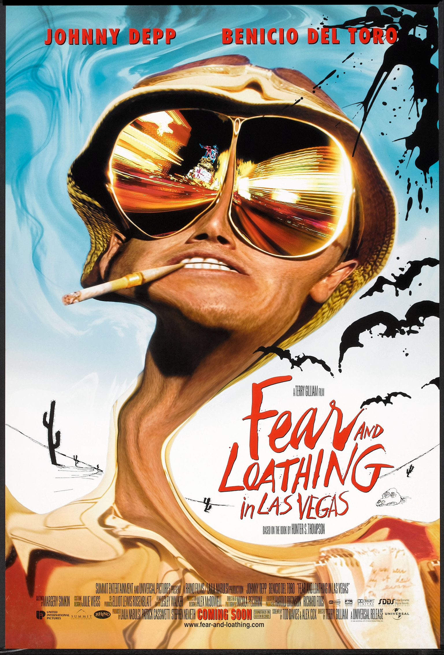 fear and loathing in las vegas Fear and loathing in las vegas: a savage journey to the heart of the american dream is a novel by hunter s thompson, illustrated by ralph steadman the book is a roman à clef, rooted in autobiographical incidents.