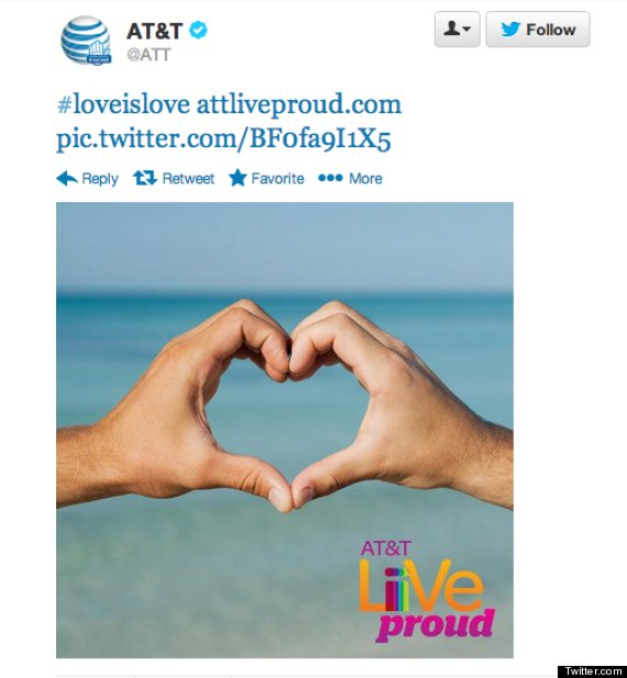 companies support gay marriage