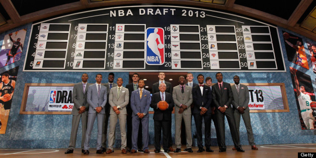 Anthony Bennett Goes No. 1 In 2013 NBA Draft To Cleveland ...