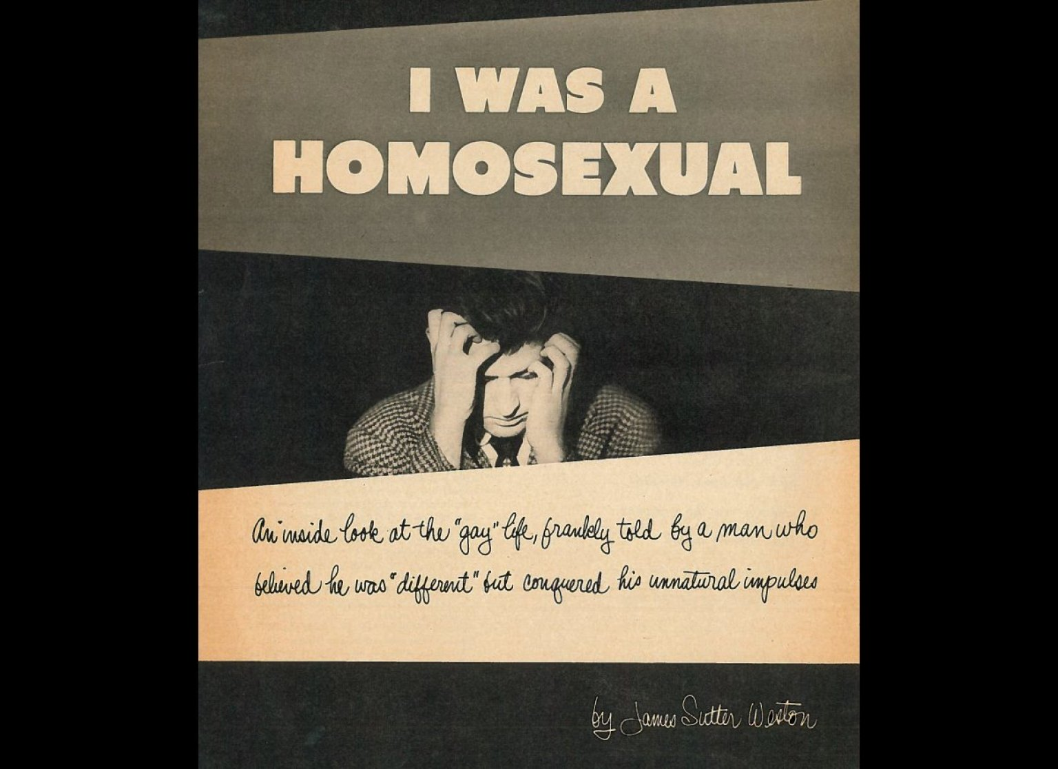 Shock the Gay Away: Secrets of Early Gay Aversion Therapy Revealed (PHOTOS) | HuffPost