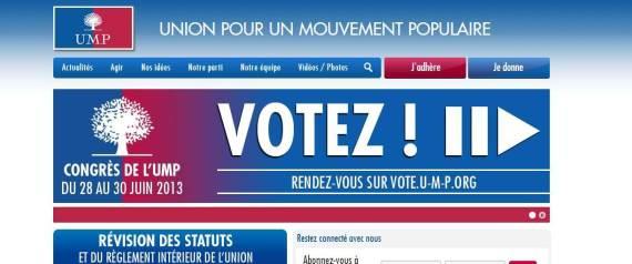 VOTE UMP