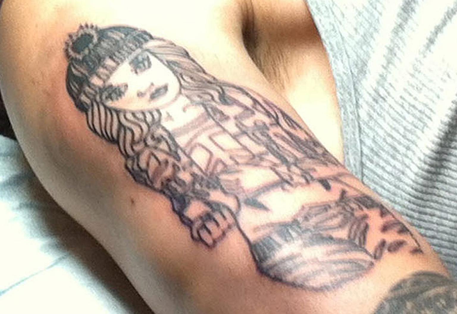 Zayn Malik Tattoo One  Zayn Malik Tattoos 2014 List