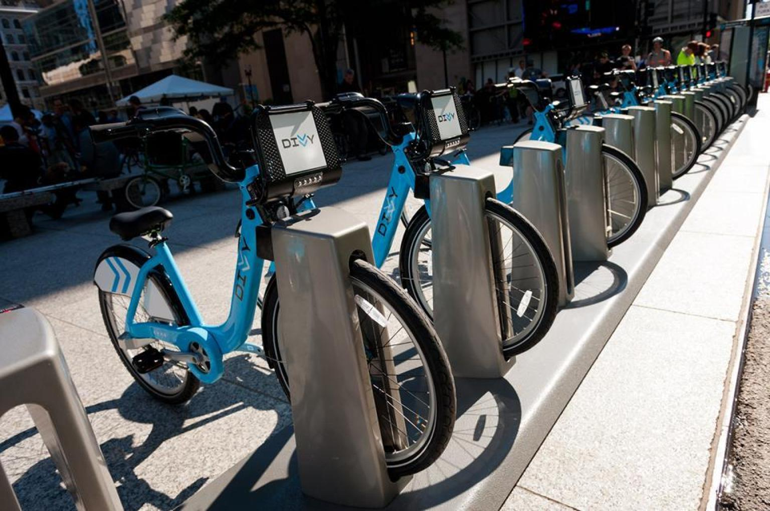 City Bikes In Chicago Chicago Bike Share Launches