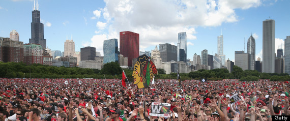 BLACKHAWKS RALLY 2013