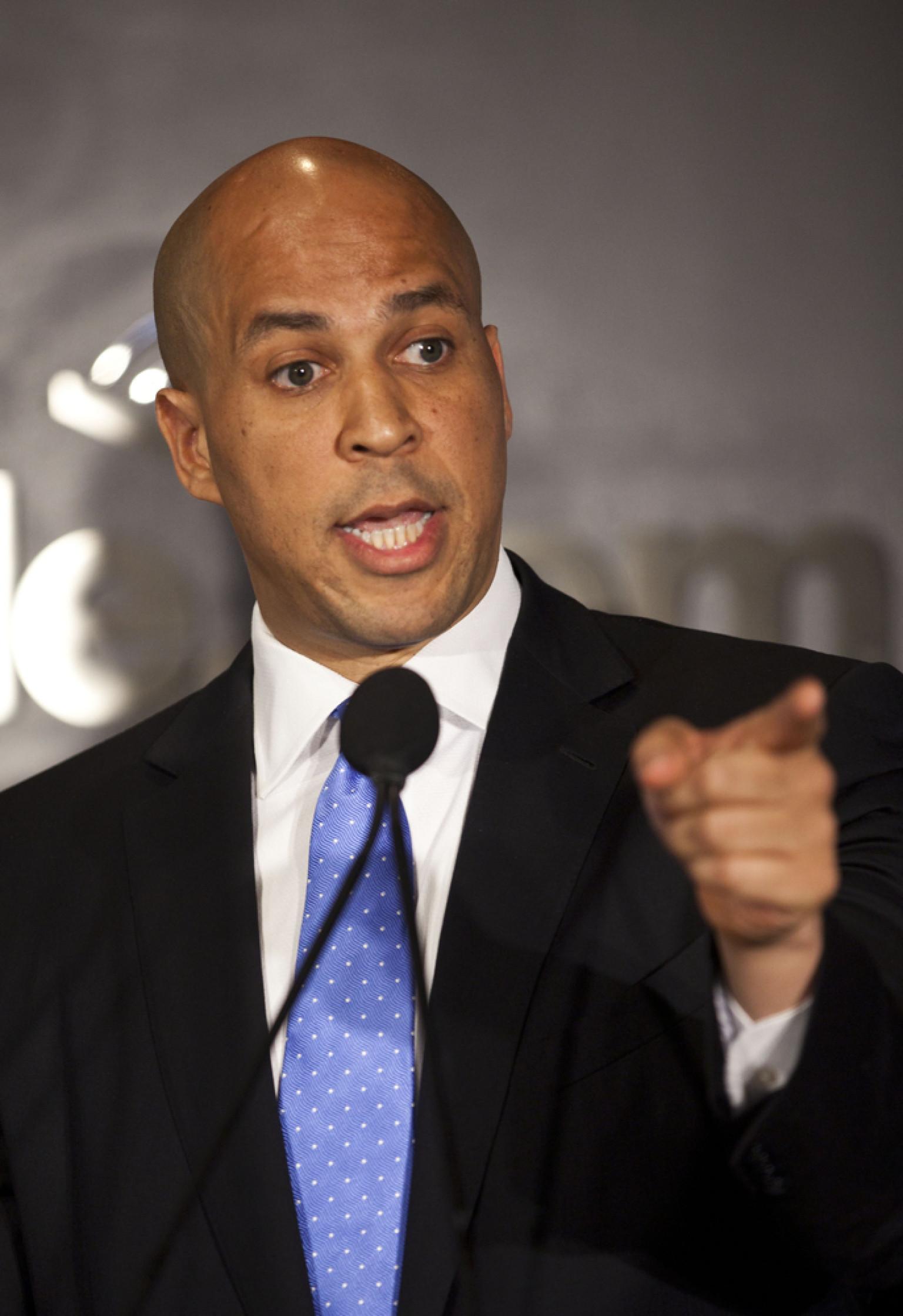 cory booker wins democratic endorsements in senate campaign