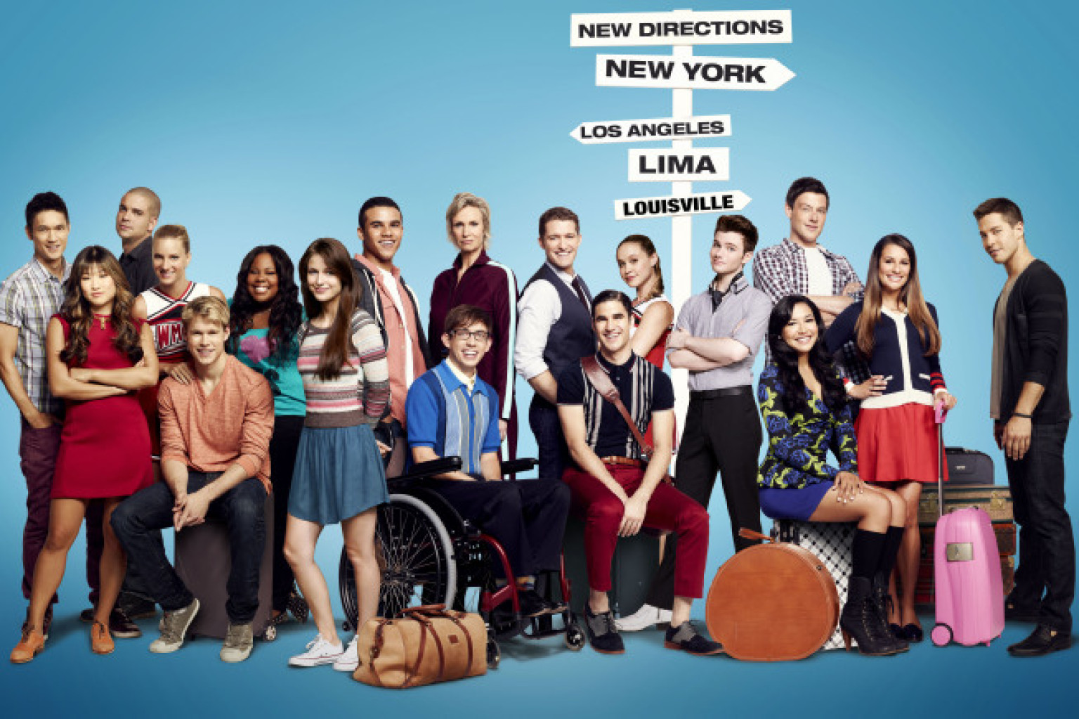Glee season 5 facebook
