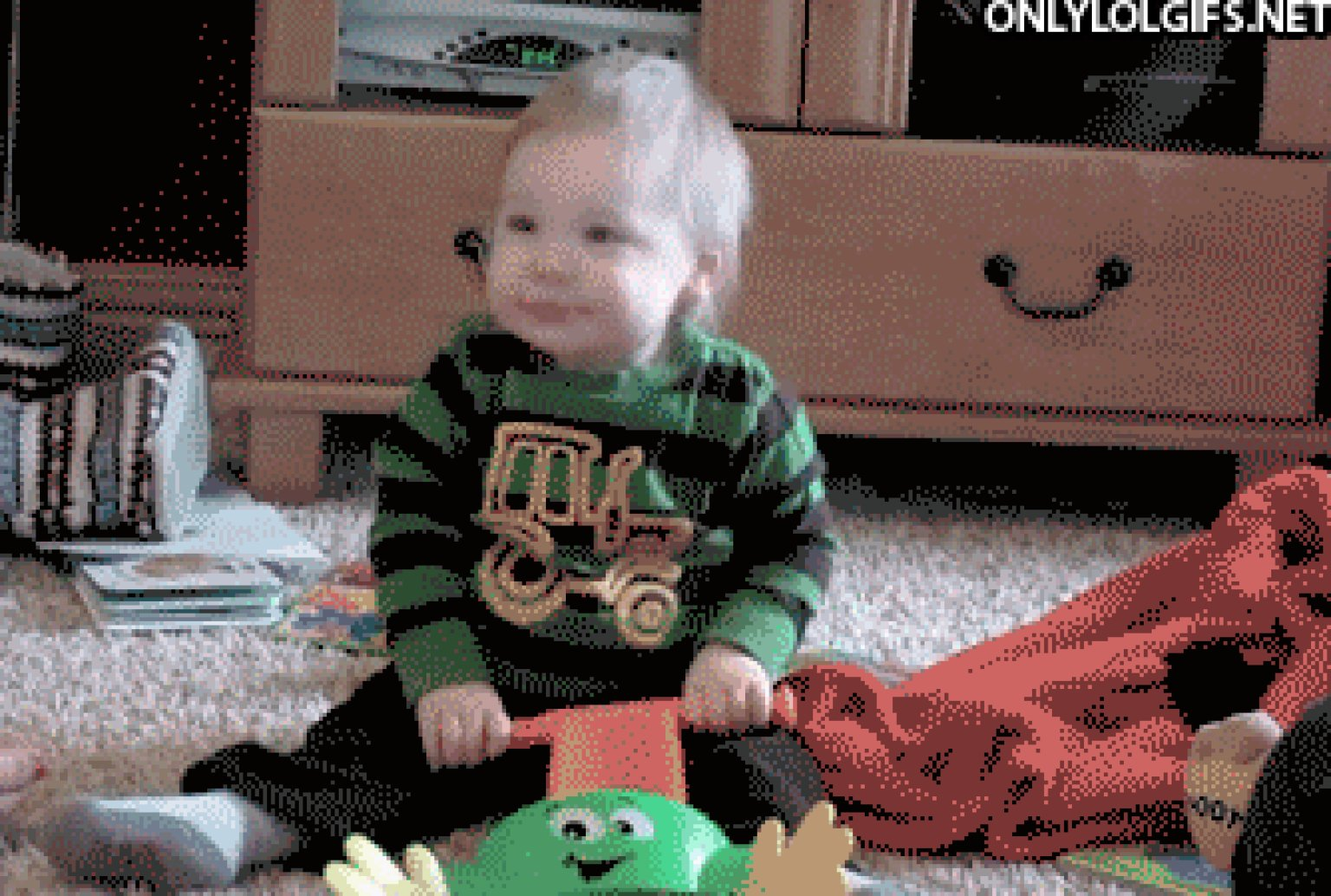 10 Dancing Baby Gifs We Dare You Not To Aww Huffpost