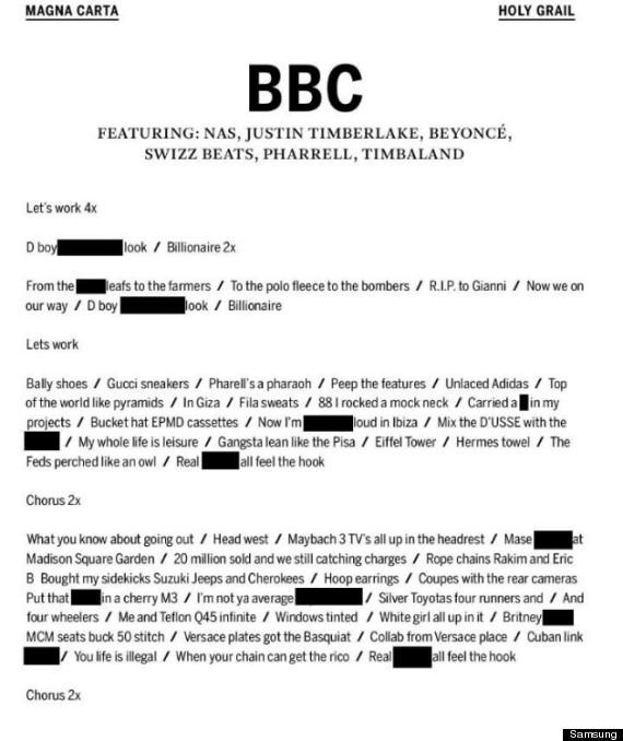 jay z bbc
