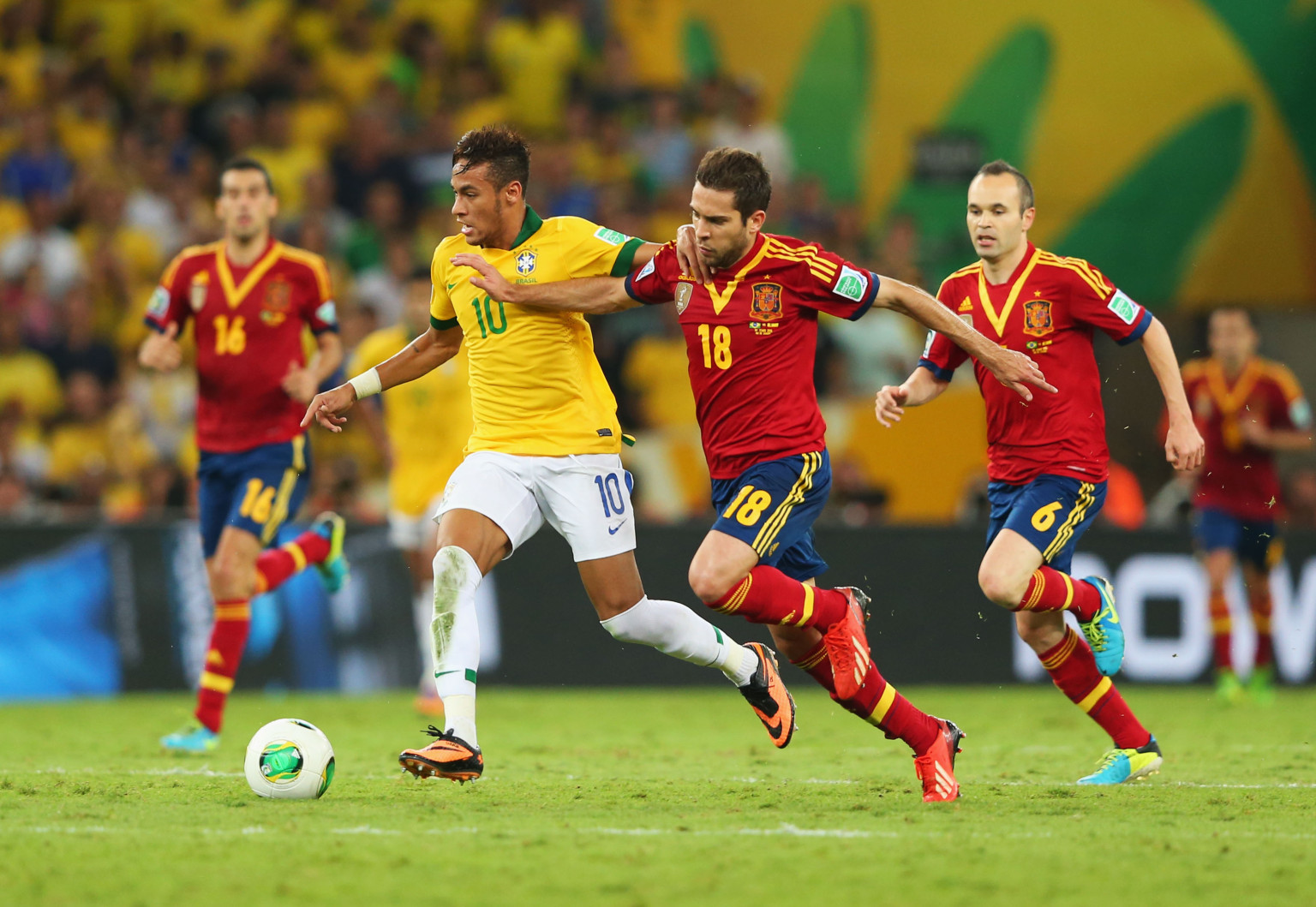 Confederations Cup: Brazil Dominate Spain In Final At The ...