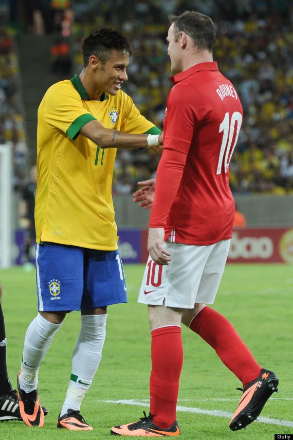 neymar wayne rooney