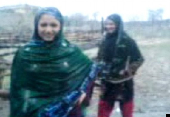 pakistani girls dancing in the rain
