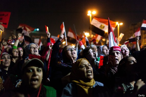 tahrir square women