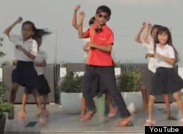WATCH: 160 Kids From Cambodian Slum Do 'Gangnam Style'