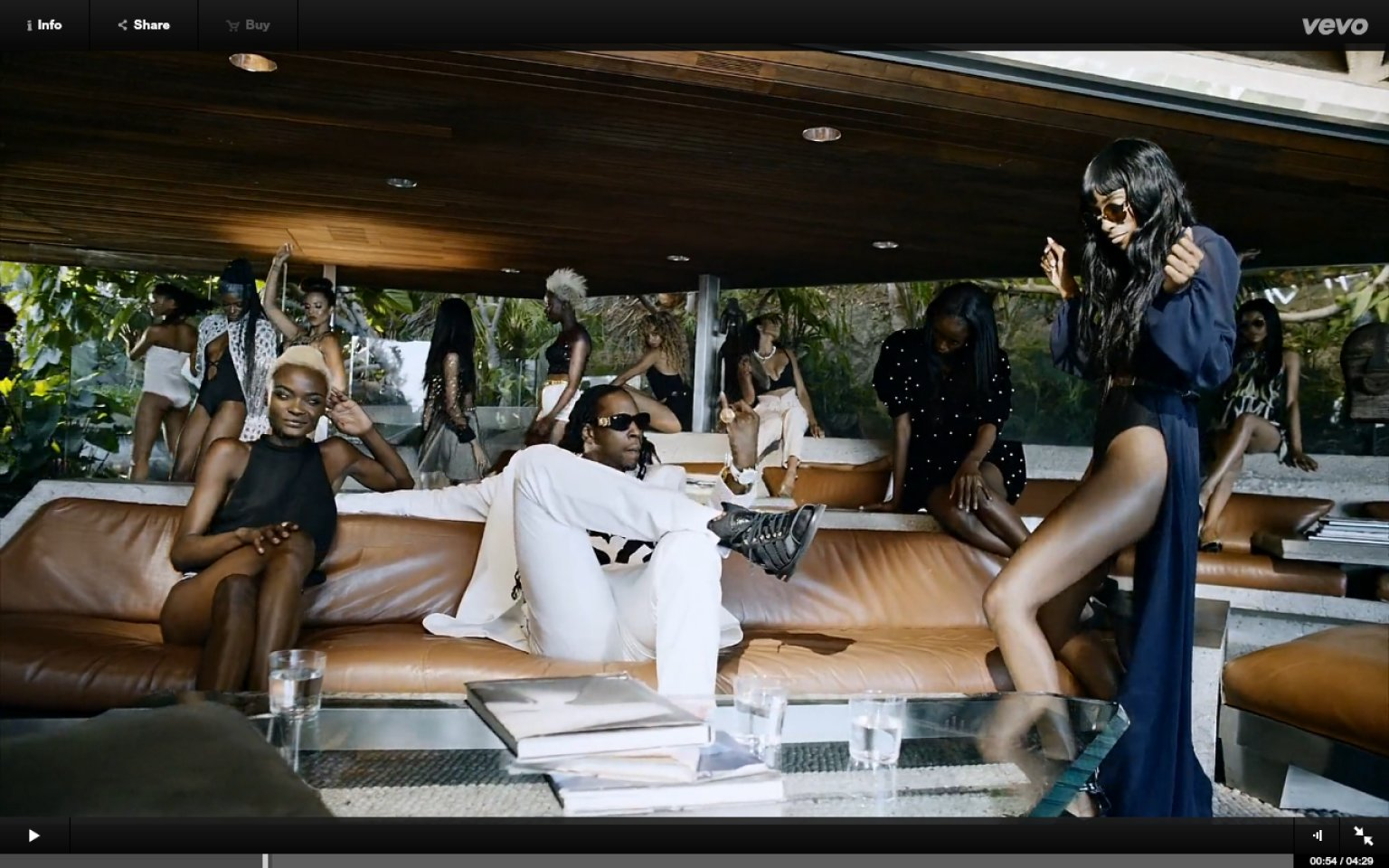 Chainz feds watching video features pharrell and many beautiful