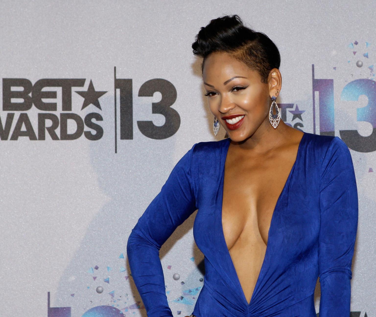 Meagan Good Bet Awards Dress
