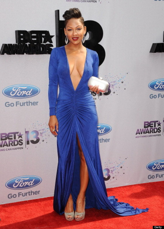meagan good cleavage