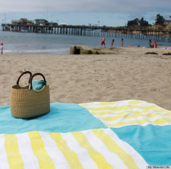 beach towel crafts