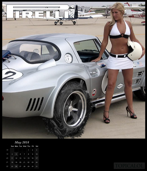 spoof pirelli calendar 2014