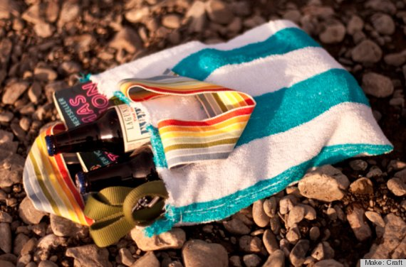 beach towel crafts