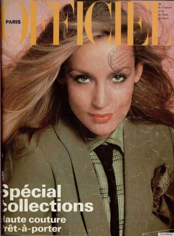 jerry hall magazine covers