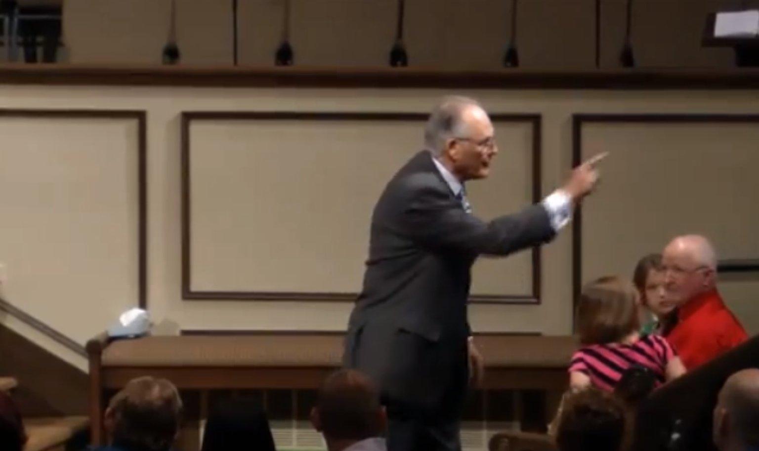 Jim Standridge Sermon Baptist Preacher Insults Members Of