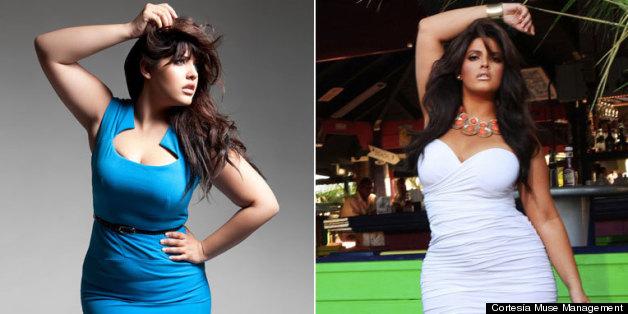 Denise Bidot, Hispanic 'Plus-Size' Model, Wants Girls To Learn To ...