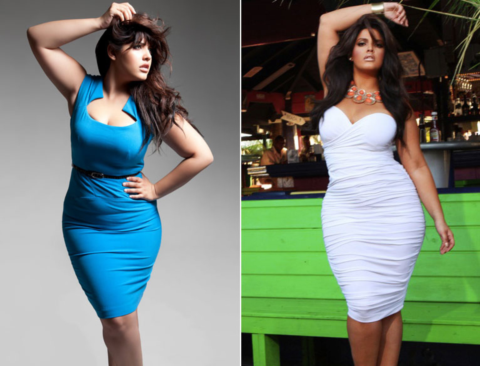 Denise Bidot, Hispanic 'Plus-Size' Model, Wants Girls To Learn To ...
