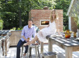 Inside Bobby Flay And Stephanie March's Dreamy Hamptons Home Featured In Elle Decor (PHOTOS)