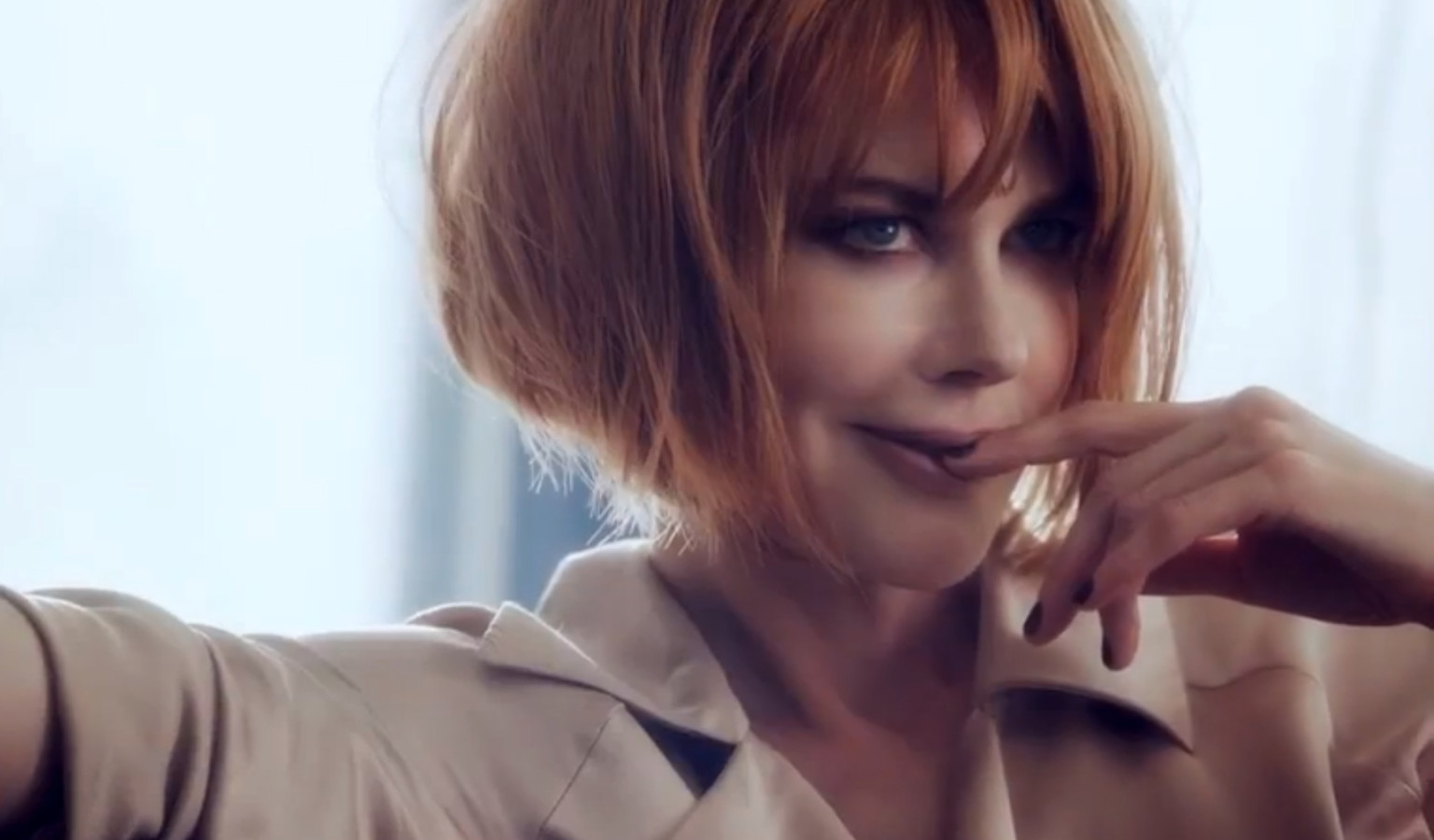WATCH: Nicole Kidman Sports Red Bob In First Video For ...