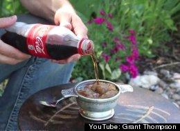 WATCH: How To Make Soda Freeze Itself Instantly