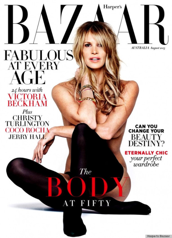 Elle The Body Macpherson Repeats Playboy Cover Pose At 49 PHOTOS