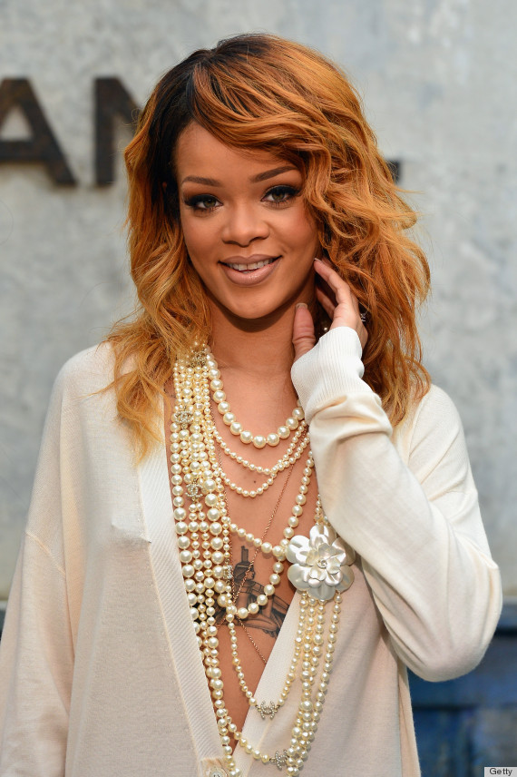 Show rihanna chanel fashion