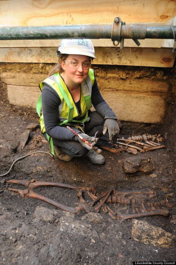 ancient saxon king unearthed