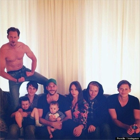 Alexander Skarsgard: Bringing Sexy Back To Family Photos ...