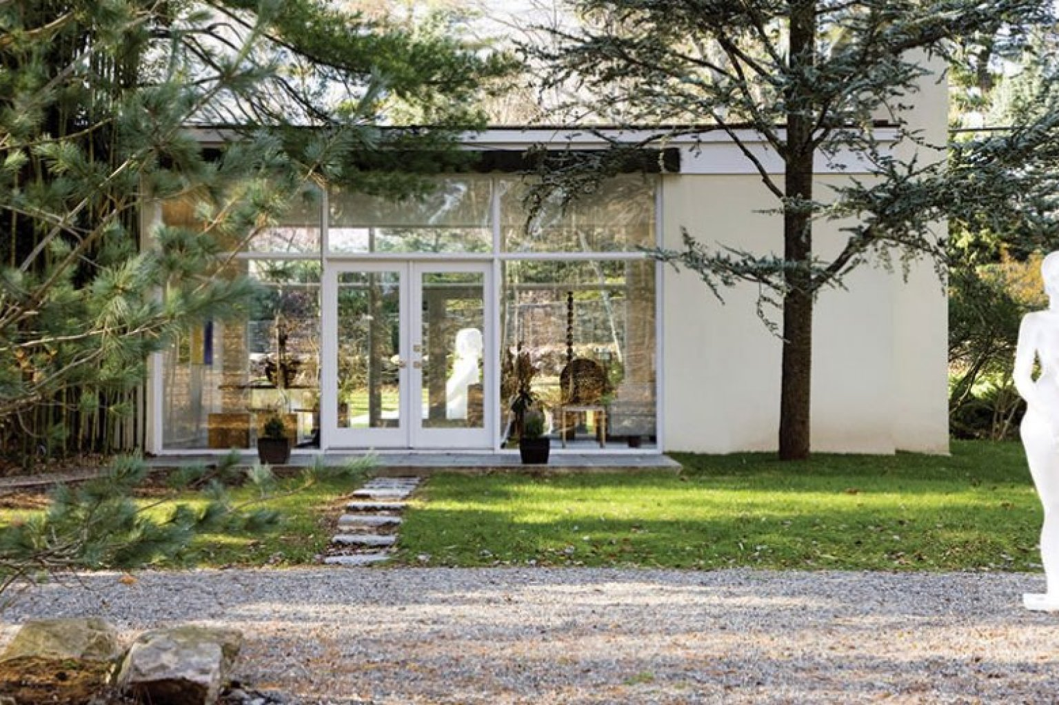 Philip Johnson S Alice Ball House Is Anything But Second