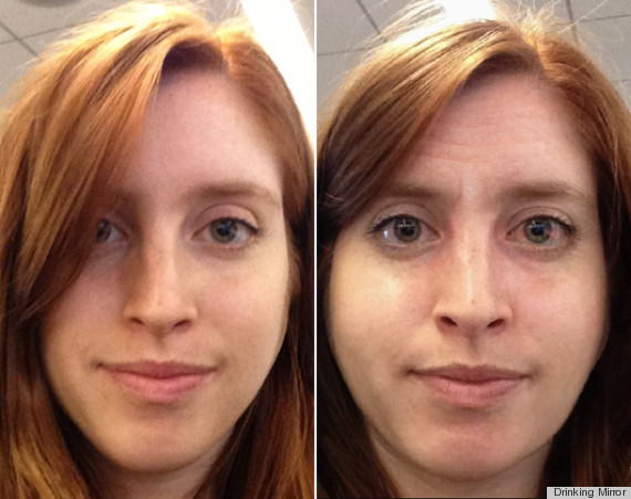 ... Mirror App Shows Us What Alcohol Does To Our Skin (PHOTOS) : HuffPost