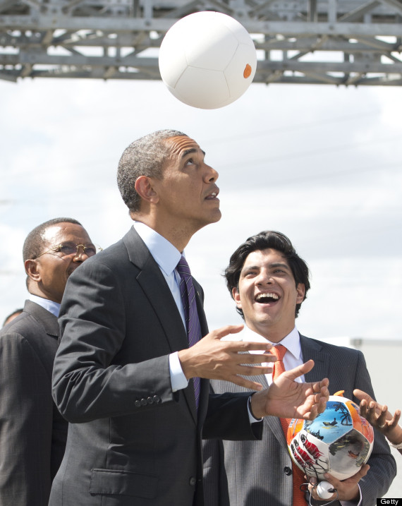 obama soccket ball