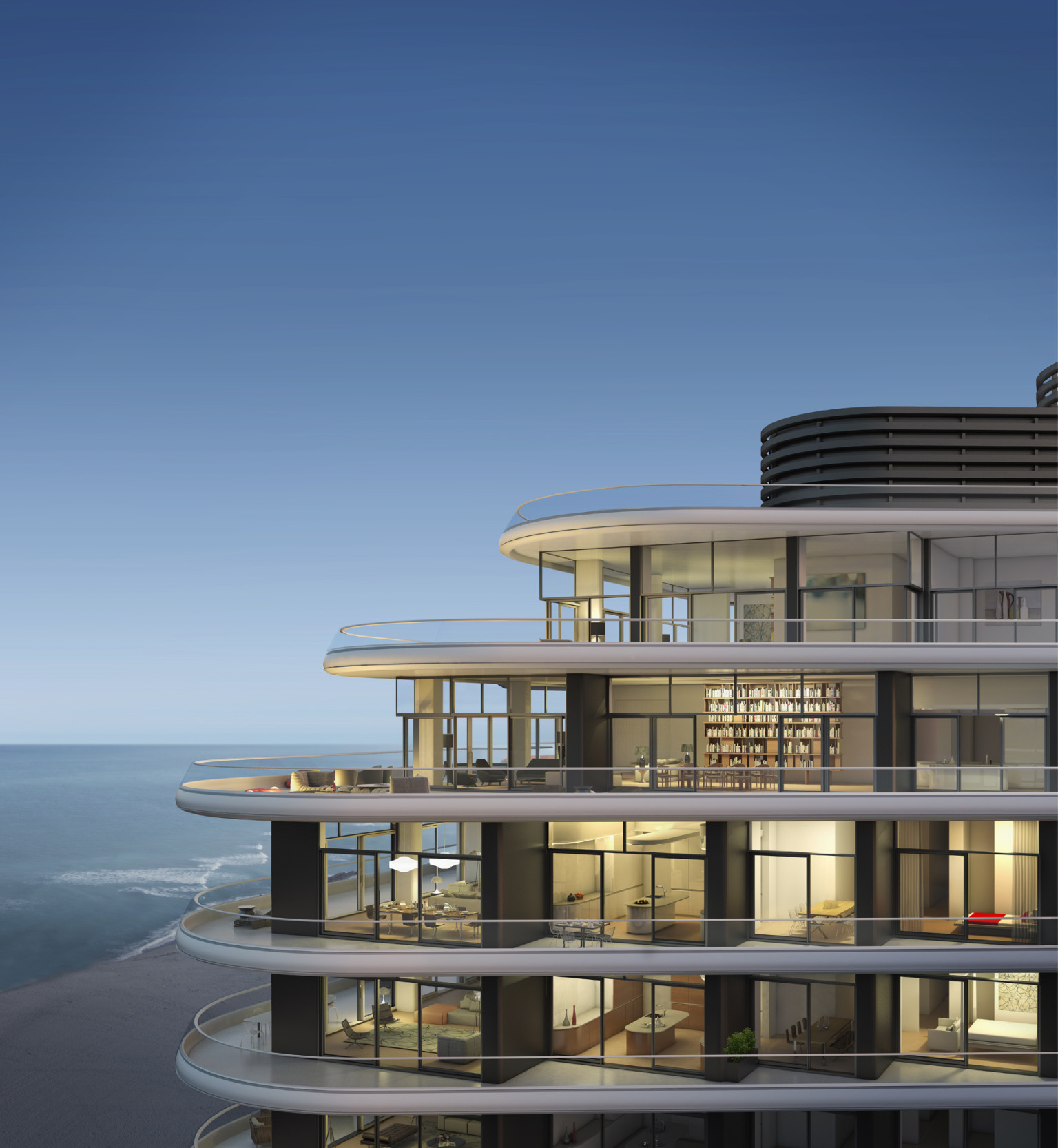 Mansion Pools Close Up: Faena House Miami Beach Features Insane Balconies, Cool