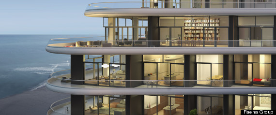 Faena House Miami Beach Features Insane Balconies Cool Rooftop Pool