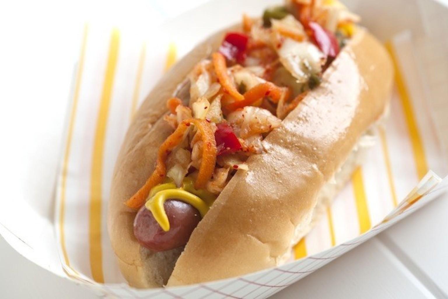 Kimchi Hot Dog Chicago