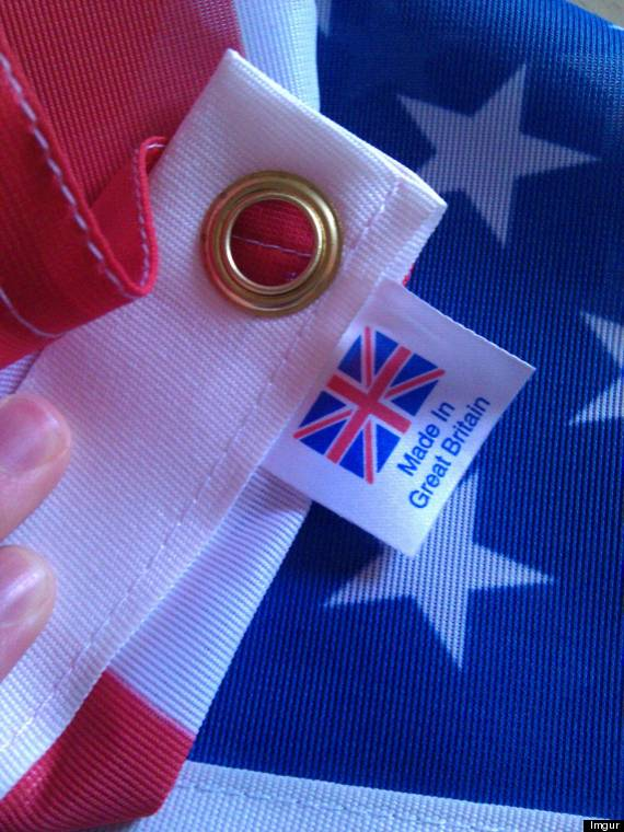 american flag britain